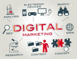 31801148 El marketing digital es el marketing que hace uso de dispositivos electr nicos para colaborar con la Foto de archivo 300x231, 13 reasons why Aprender marketing digital