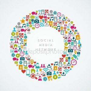 depositphotos 31496751 stock illustration social media network icons circle 300x300, Social Media y la Experiencia del Consumidor