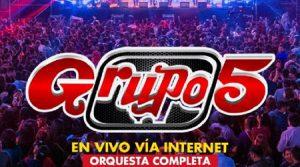 Grupo 5 conciertos virtuales 2021 300x167, Conciertos Virtuales 2021