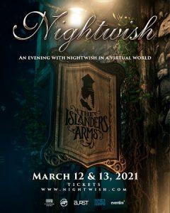 Nightwish conciertos virtuales 2021 240x300, Conciertos Virtuales 2021